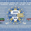 Guitar Con – this weekend! April 16 & 17, Fitchburg, MA
