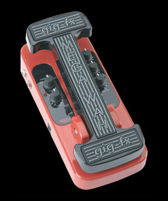Our 2nd Pedal: The MegaWah - a wah pedal with stereo in, stereo out!