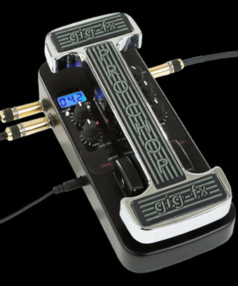 Our flagship pedal: the ProChop, analog effect, with midi sync.